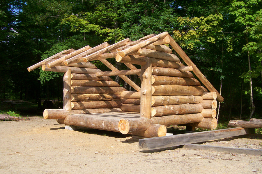 Adirondack lean to kits new house designs for Lean to shelter plans